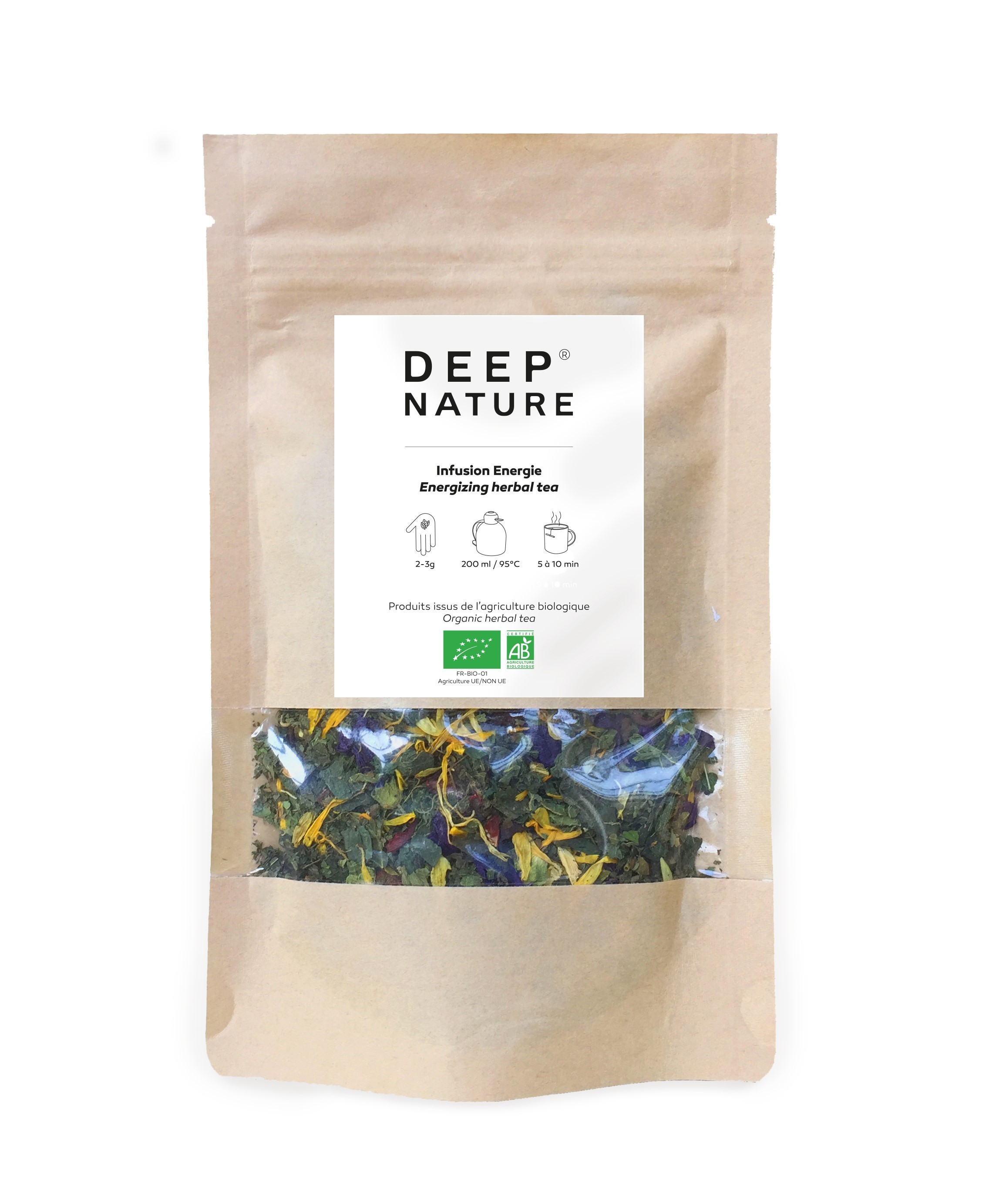 Deep Nature Energising herbal tea