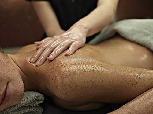 Massage d'inspiration ayurvédique