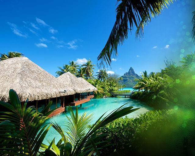 Polynésie - Intercontinental Bora Bora