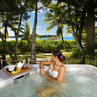 hotel méridien spa on the isle of pines in new caledonia