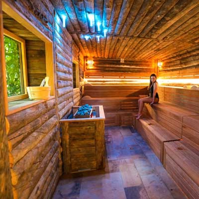 Deep Nature Spa In Center Parcs Allgau Germany