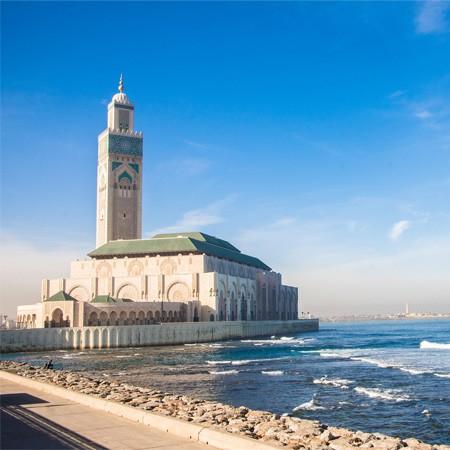 Casablanca - Les hammams de la mosquée Hassan II