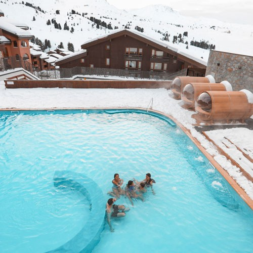 4 admissions pass - Family Spa - Belle Plagne
