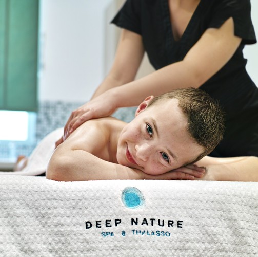 Mon premier massage
